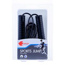 Thai Sports เชือกกระโดด (Jump Rope) ปรับสายได้ สีดำ รหัสสินค้า E2X1S1228