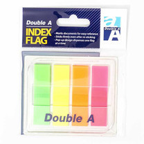 Double A Index Flags 4 Colors Full (แพ็ก 24)