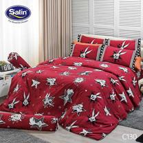 Satin Junior ผ้าปูที่นอน ลาย C130 6 ฟุต