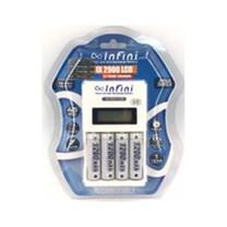 Infini แท่นชาร์จ + ถ่านชาร์จ รุ่น IX2900 + AA1200 แพ็ก 4