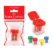Faber Castell 1819 Pastel Portable Pencil Sharpener ( แพ็ก 12)