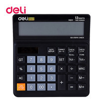 Deli M01120 Calculator 12 Digits เครื่องคิดเลข Tax ตั้งโต๊ะ 12 หลัก
