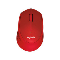 Logitech Silent Plus Wireless Mouse M331 Red