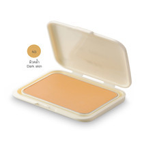 MTI Feel Perfect Compact Powder Foundation With Sunscreen รีฟีล 14.5 ก. #N3 ผิวเข้ม