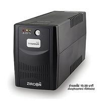 Zircon UPS Titanium 850VA Black