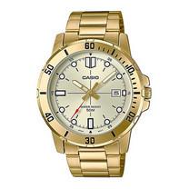 Casio นาฬิกาข้อมือ รุ่น MTP-VD01G-9EVUDF Gold