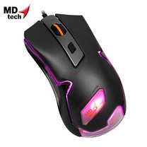 MD-TECH Optical Mouse USB KM-01 Grey