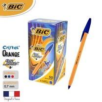 BIC ปากกาลูกลื่น Orange Fine 0.7 มม. (50 ด้าม/กล่อง) สีน้ำเงิน