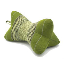 โอทอป แม่แย้ม หมอนดาวเล็กลายขิด สีเขียว