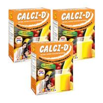 Calci-D Natural Orange Flavoured Beverage 10 ซอง/กล่อง 3 กล่อง