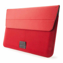 """Cozistyle Stand Sleeve 13"""" Poly Fabric (ARIA Collection) Red"""