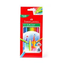 Faber-Castell ดินสอสีไม้ 12 สี ด้ามสามเหลี่ยม