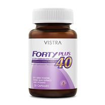 VISTRA Forty Plus ปริมาณ 30 แคปซูล