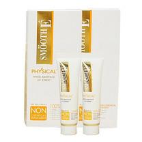 Smooth E Physical White Sunscreen SPF50+ PA++++ 15 ก. แพ็ก 2 ชิ้น