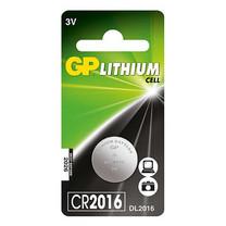 GP Lithium Button Cell CR2016 1 กล่อง