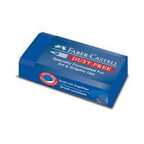 Faber-Castell ยางลบ DUST FREE สีน้ำเงิน ลบสีได้ (แพ็ก 24 ก้อน)