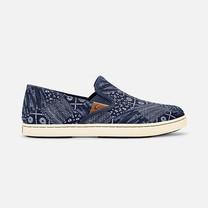Olukai รองเท้าผู้หญิง 20360-DEXP W-PEHUEA PA'I TRENCHBLUE/PATCH 5 US