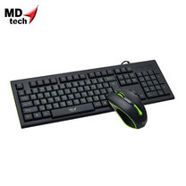 MD-TECH Combo เซ็ต Keyboard & Mouse USB K16+61
