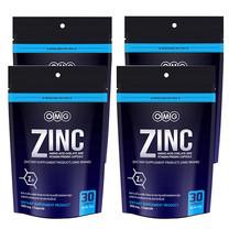 OMG Zinc Amino Acid Chelate And Vitamin Premix แพ็ก 4 รวมบรรจุ 120 แคปซูล