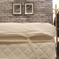 LEREEN ท็อปเปอร์รองที่นอน Supersoft ขนาด 6 ฟุต หนา 4 นิ้ว