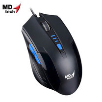 MD-TECH Optical Mouse USB BC-85 Black/Blue