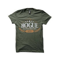 Rogue Men T-Shirt MST-27 Green SizeL