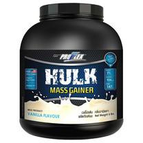 Proflex Hulk Vanilla ช่วยเสริมสร้างมวลกล้ามเนื้อ กลิ่นวนิลา ขนาด 5 ปอนด์