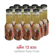 แก้ว น้ำมะขามสด (แพ็ก 12 ขวด)