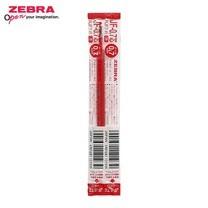 Zebra ไส้ปากกาหมึกเจล JF 0.7 มม. (บรรจุ 10 ชิ้นในกล่อง) แดง