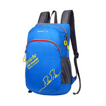 Tanluhu กระเป๋าเดินทางเป้ปีนเขา Backpack สีฟ้า