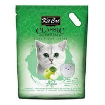 Kit Cat ทรายแมวคริสตัล สูตร Apple 5 ลิตร