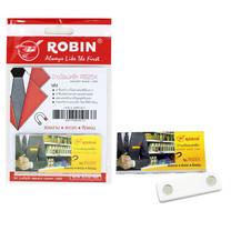 Robin ป้ายชื่อแม่เหล็ก R525X (30x68 มม.) แพ็ก 12 ชิ้น