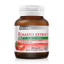 BEWEL Tomato Extract 60 มก. plus Vitamin E 30 ปริมาณ 30 แคปซูล