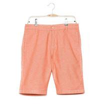 BJ JEANS กางเกงขาสั้น รุ่น BJMSSB-560 #Oxford ส้ม 36