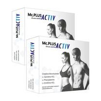 Mc.Plus Activ ผลิตภัณฑ์เสริมอาหารควบคุมน้ำหนัก แม็คพลัส แอคทิฟ บรรจุ 20 เม็ด แพ็ก 2 กล่อง