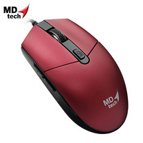 MD-TECH Optical Mouse USB BC-17 Red