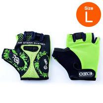 Thai Sports ถุงมือจักรยาน CG-3001 GREEN วัสดุผ้า LYCRA มีเจลซัพพอร์ต Size L