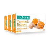 Hi-Balanz สารสกัดจากขมิ้นชัน 30 แคปซูล แพ็ก 3 กล่อง