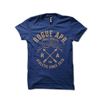 Rogue Men T-Shirt MST-19 Blue SizeM