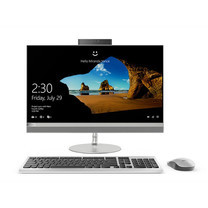 Lenovo All In One Computer ideacentre AIO520-22 i5-8400T 4G1T128G R5302G W10 3Y Silver
