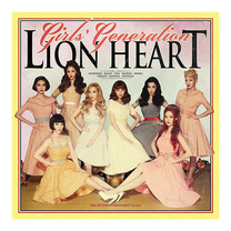 CD GIRL'S GENERATION The 5th Album Lion Heart (Local)