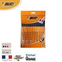 BIC ปากกาลูกลื่น Orange Fine 0.7 มม. (แพ็ก 12 ด้าม) สีดำ