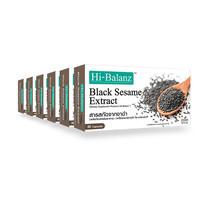 Hi-Balanz สารสกัดจากงาดำ 30 แคปซูล แพ็ก 6 กล่อง