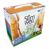 Slimwell Dietary Supplement Product Green tea flavour 14 ซอง/กล่อง จำนวน 840 ก.