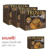 TRUSLEN Coffee ซื้อ 3 แถม 1 ทรูสเลน ค็อฟฟี่ พลัส (1 กล่อง 12 ซอง)