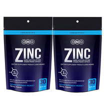 OMG Zinc Amino Acid Chelate And Vitamin Premix (ซิงค์ อะมิโน แอซิด คีเลต และวิตามินพรีมิกซ์) แพ็ก 2 รวมบรรจุ 60 แคปซูล