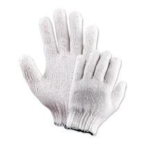 YAMADA ถุงมือถักด้ายค๊อตตอน 400ก. รุ่น 9701 (ขอบแดง)