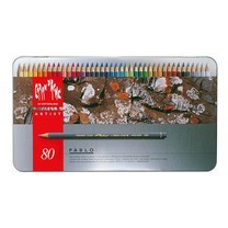 Caran D'Ache Pablo ดินสอสีไม้กันน้ำ 80 สี กล่องโลหะ