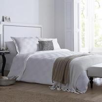 Synda ชุดเครื่องนอน Hotel Collection (WHITE SQUARE-L) Size 6ฟุต 3 ชิ้น