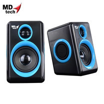MD-TECH Speaker USB 2.0 SP-17 Black/Blue